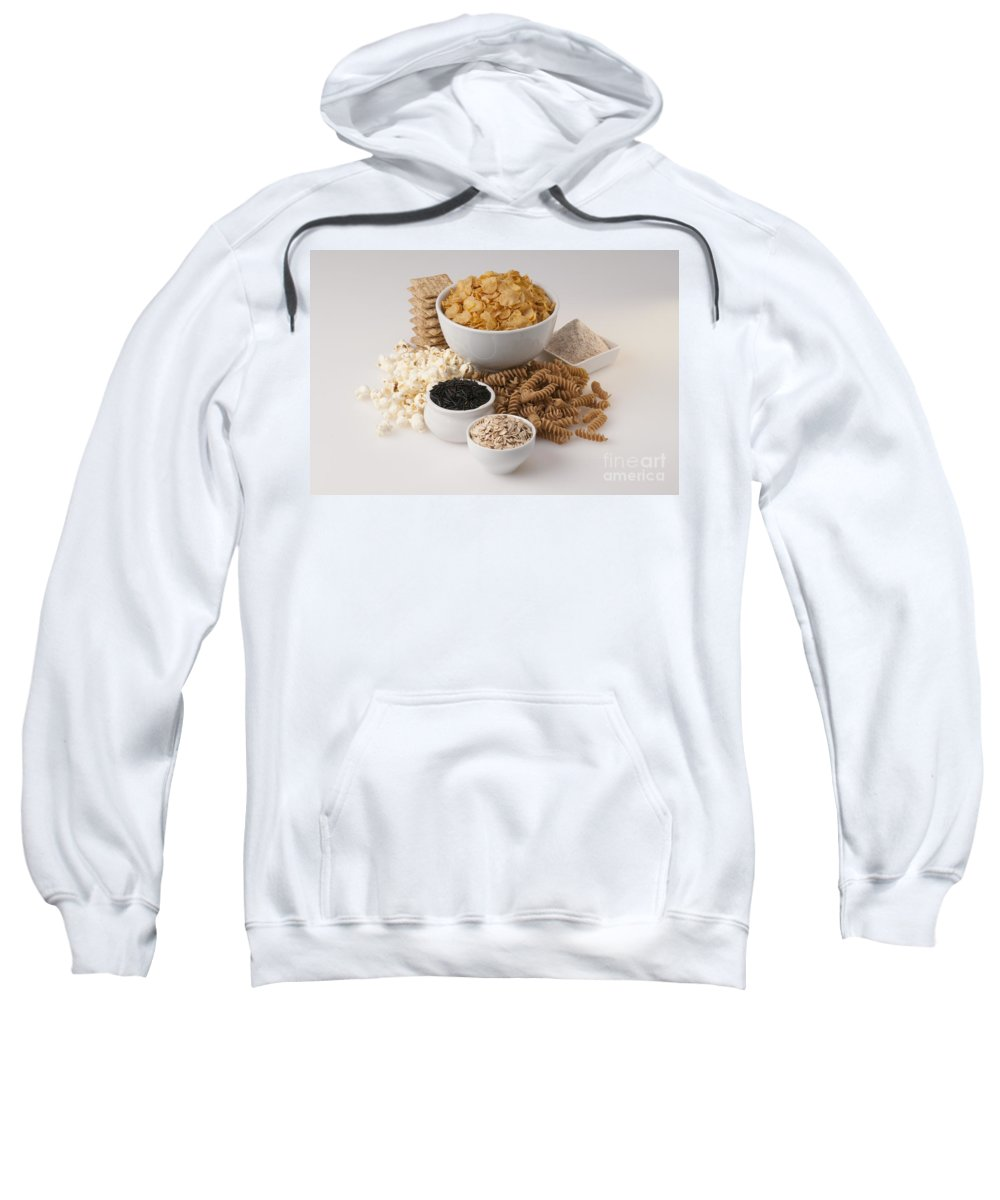 Corn Flakes Sweatshirt featuring the photograph Grains by George Mattei