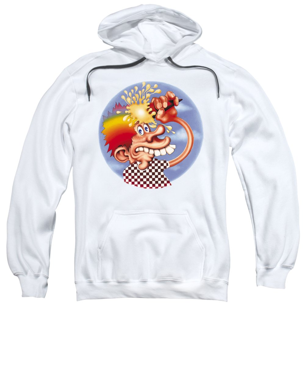 9a76b5e1f21 Steal Your Face Sweatshirt featuring the digital art Grateful Dead Europe  72  by Gd
