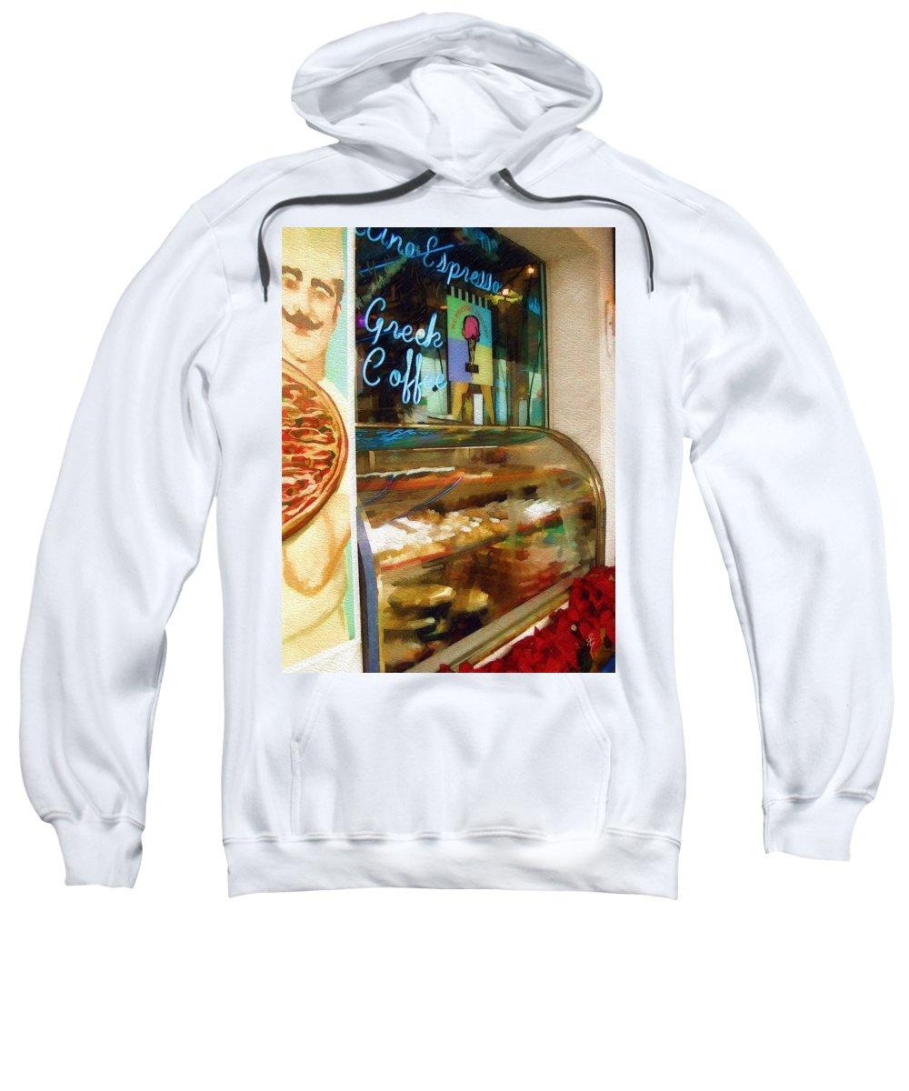 Greek Sweatshirt featuring the photograph Greek Coffee by Sandy MacGowan