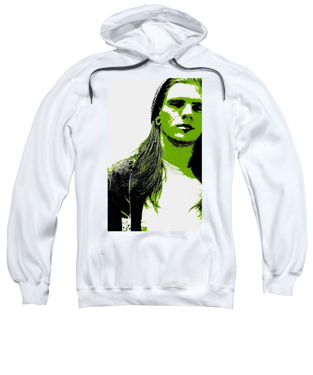 Boy Sweatshirt featuring the photograph Green Is In by Ed Smith