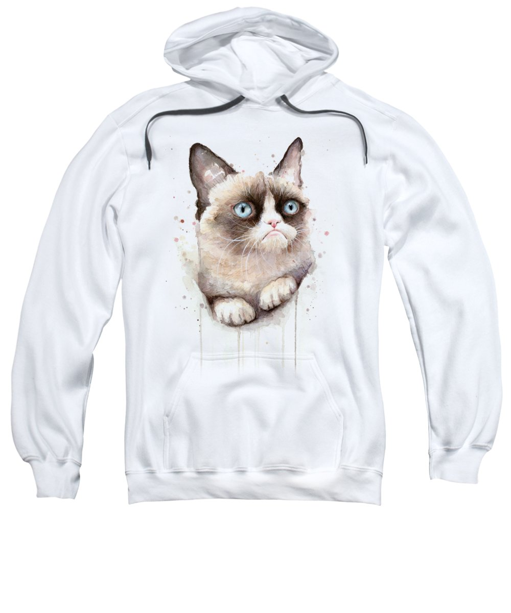 Watercolor Pet Portraits Hooded Sweatshirts T-Shirts