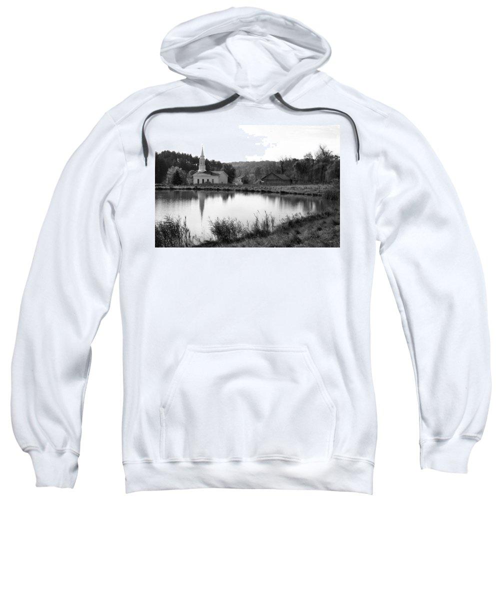 Farm Sweatshirt featuring the photograph Hale Farm by Kristin Elmquist