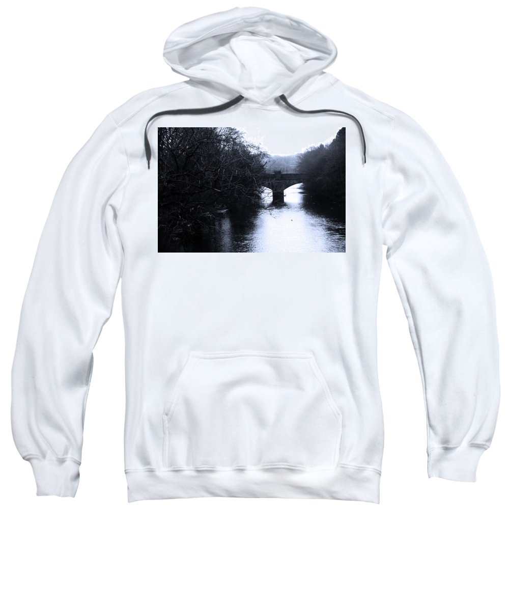 Bradford Sweatshirt featuring the photograph Half Day by Jez C Self