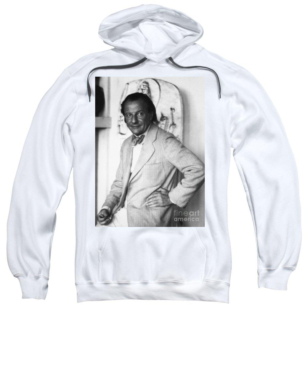20th Century Sweatshirt featuring the photograph Hans Hofmann (1880-1966) by Granger