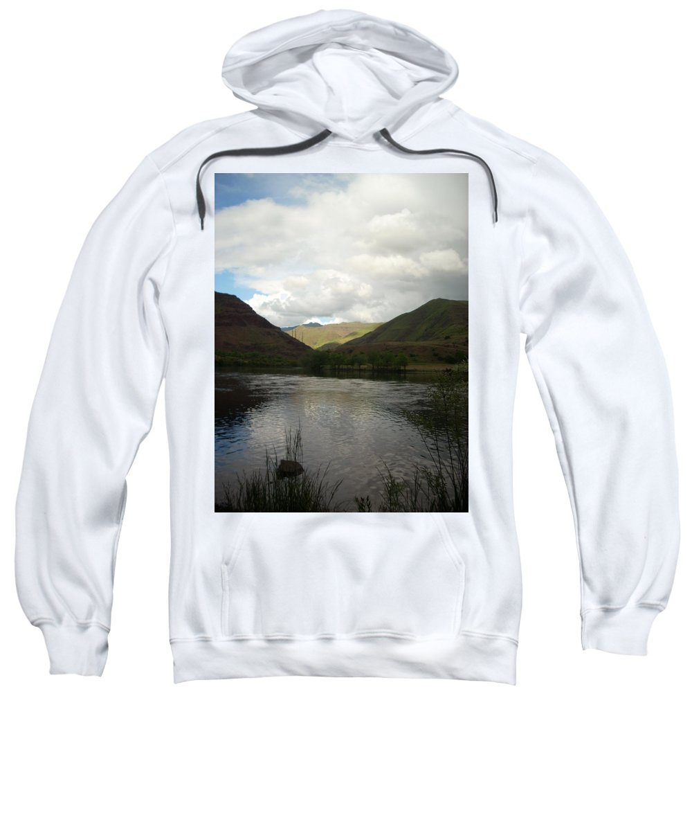 Water Sweatshirt featuring the photograph Happy Place by Sara Stevenson