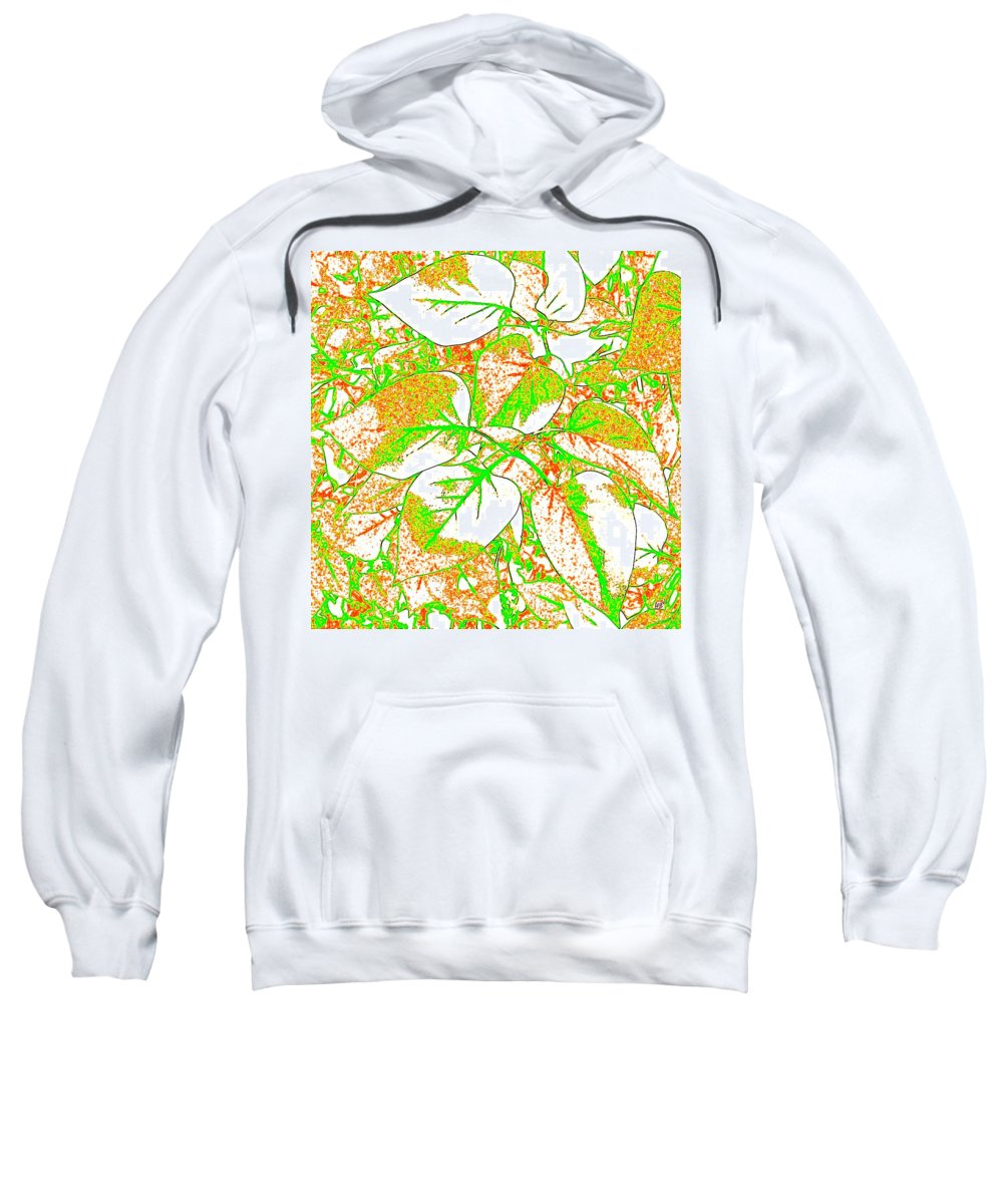 Abstract Sweatshirt featuring the digital art Harmony 11 by Will Borden