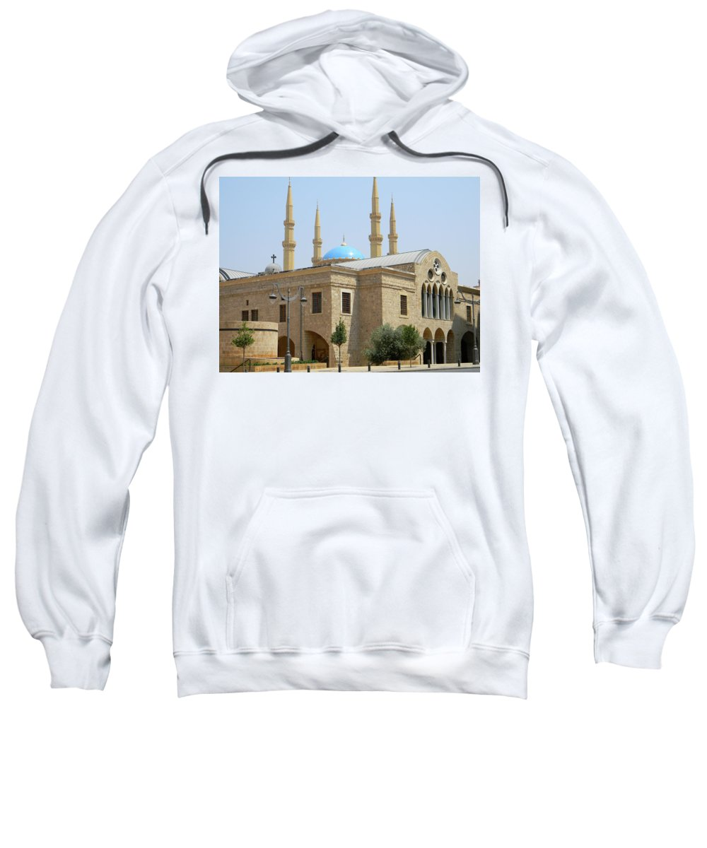 Marwan George Khoury Sweatshirt featuring the photograph Harmony by Marwan George Khoury