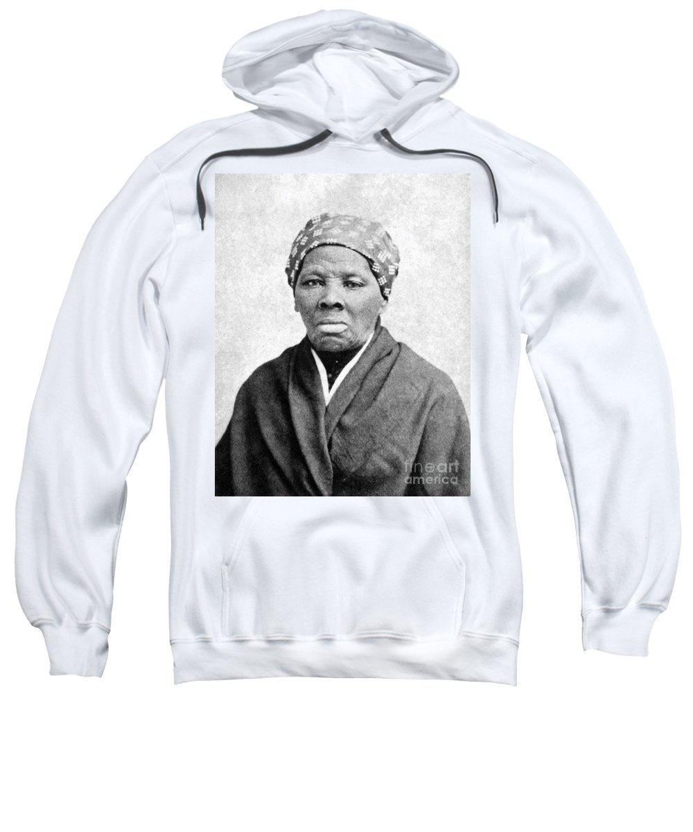 1895 Sweatshirt featuring the photograph Harriet Tubman 1823-1913. To License For Professional Use Visit Granger.com by Granger