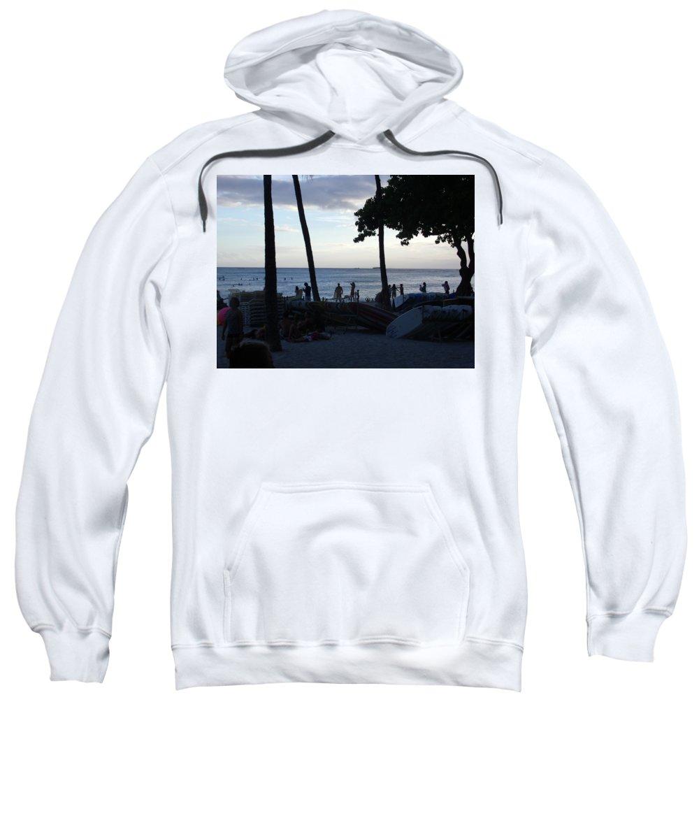Hawaii Sweatshirt featuring the photograph Hawaiian Afternoon by Daniel Sauceda