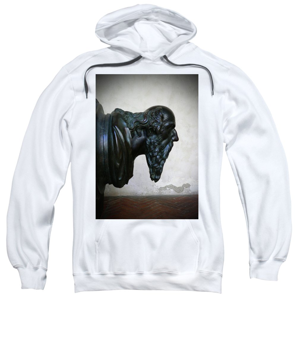 Italy Sweatshirt featuring the photograph Head First by Angela Wright