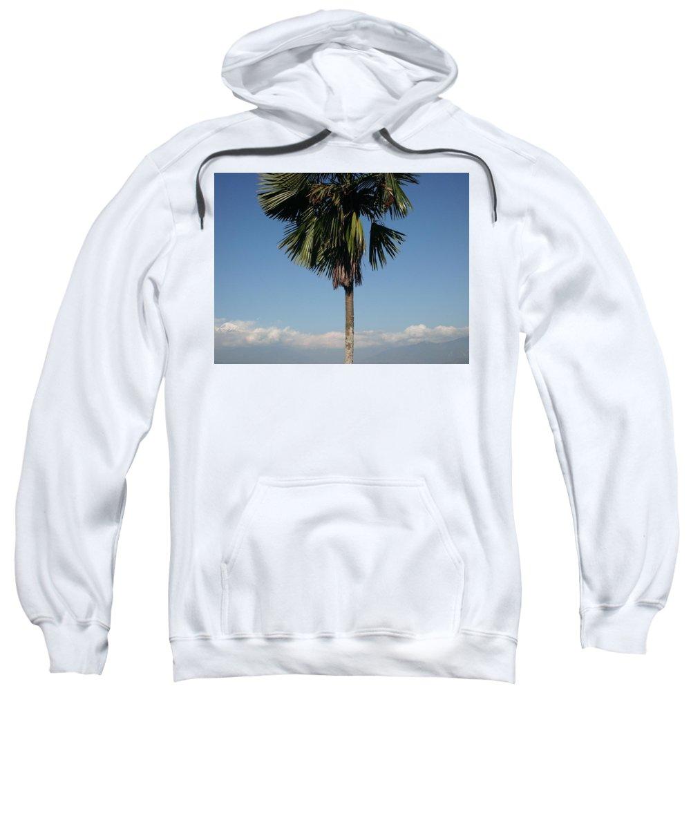 Sweatshirt featuring the photograph Heaven by Monica Dahal