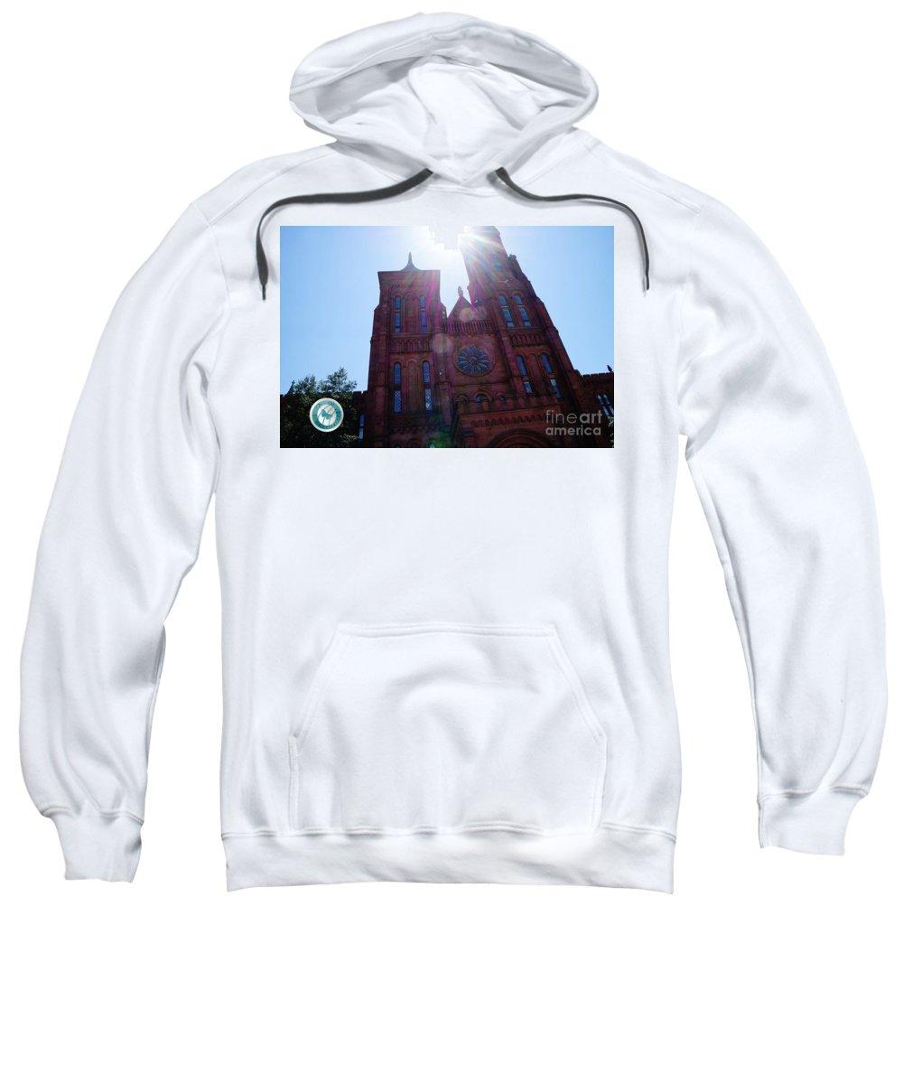 Sun Sweatshirt featuring the photograph Heavenly Glow by Jannice Walker