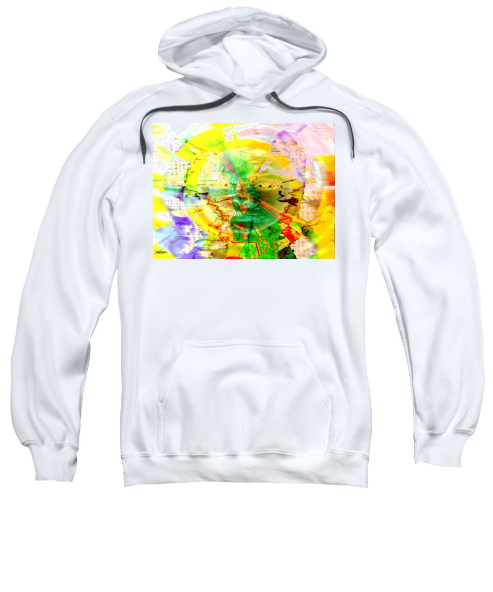 Beatles Sweatshirt featuring the photograph Here Comes The Sun by Seth Weaver