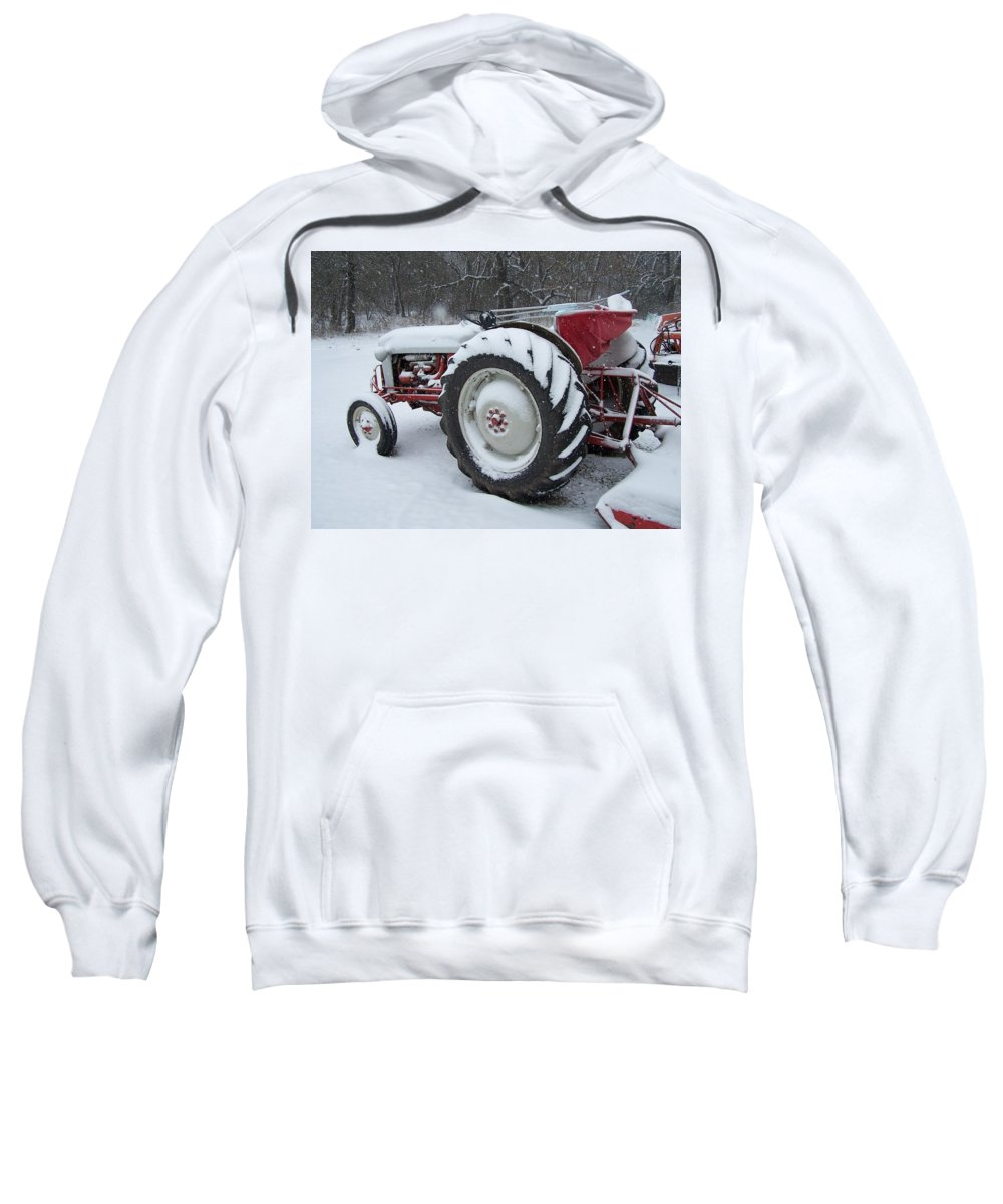 Tractor Sweatshirt featuring the photograph Herman by Gale Cochran-Smith
