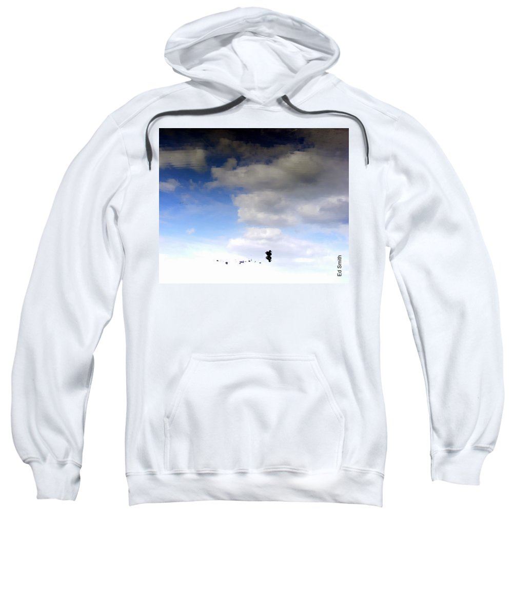 Hey Is This Heaven Sweatshirt featuring the photograph Hey Is This Heaven by Ed Smith