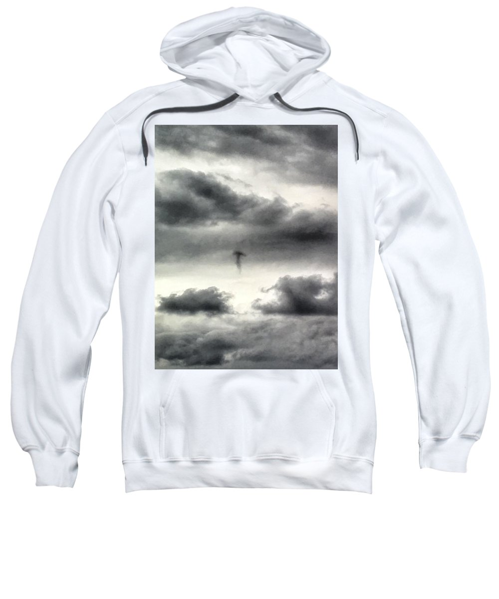 Jellyfish Sweatshirt featuring the photograph Homage To Stieglitz #3 Jellyfish by Kate McGlynn