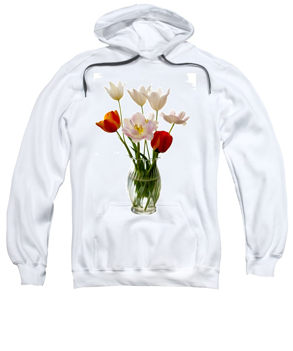 Flower Sweatshirt featuring the photograph Home Grown by Marilyn Hunt