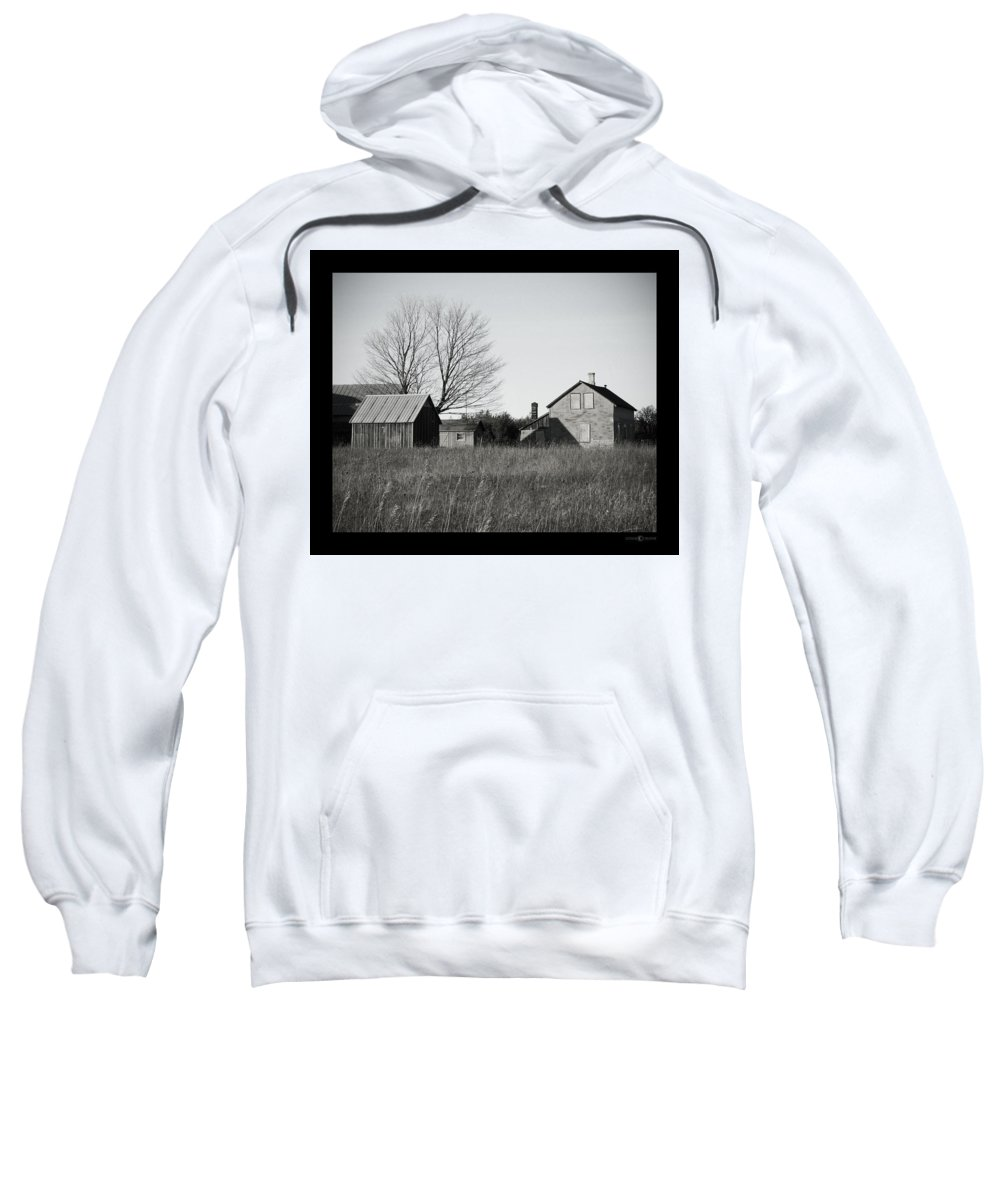 Deserted Sweatshirt featuring the photograph Homestead by Tim Nyberg
