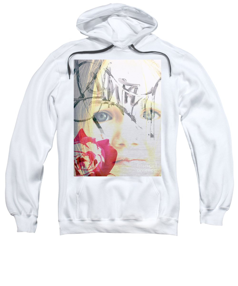 Modern Sweatshirt featuring the photograph Hope For The Future by Amanda Barcon