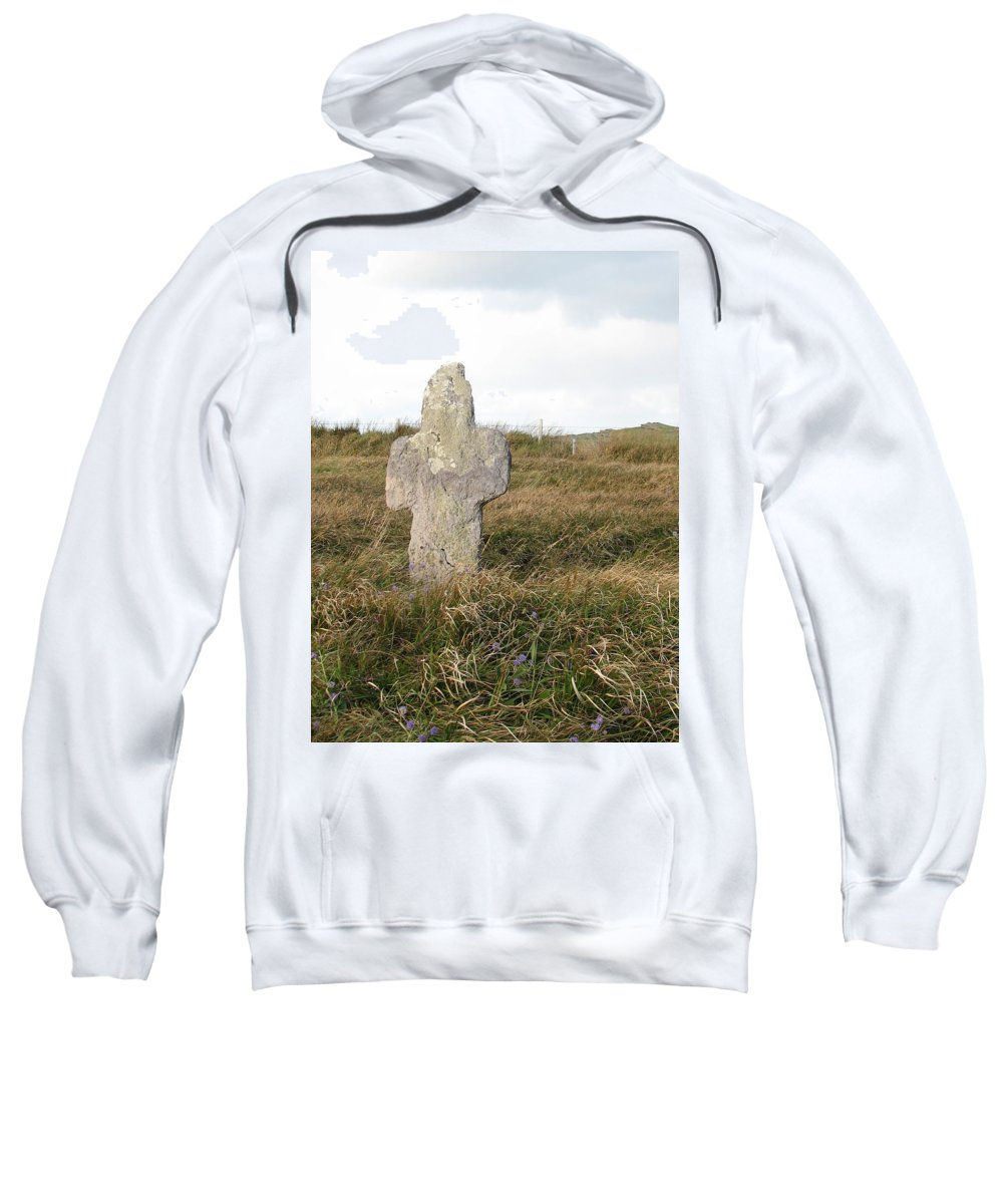 Cross Sweatshirt featuring the photograph Hope by Kelly Mezzapelle