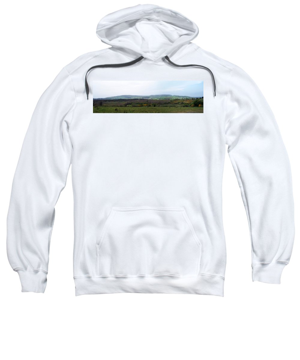 Ireland Sweatshirt featuring the photograph Horses At Lough Arrow County Sligo Ireland by Teresa Mucha