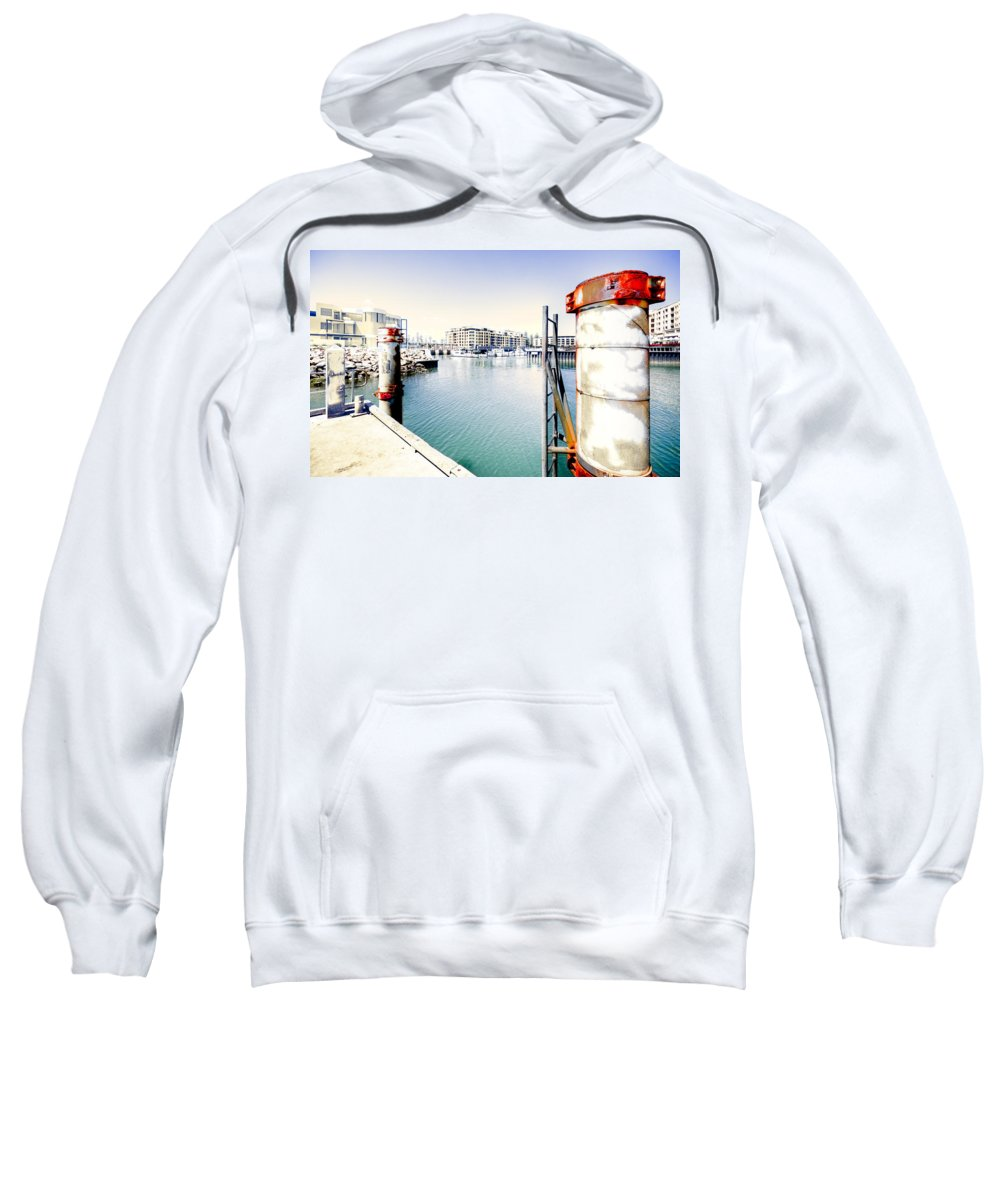 Hot Sweatshirt featuring the photograph Hot Day by Wayne Sherriff