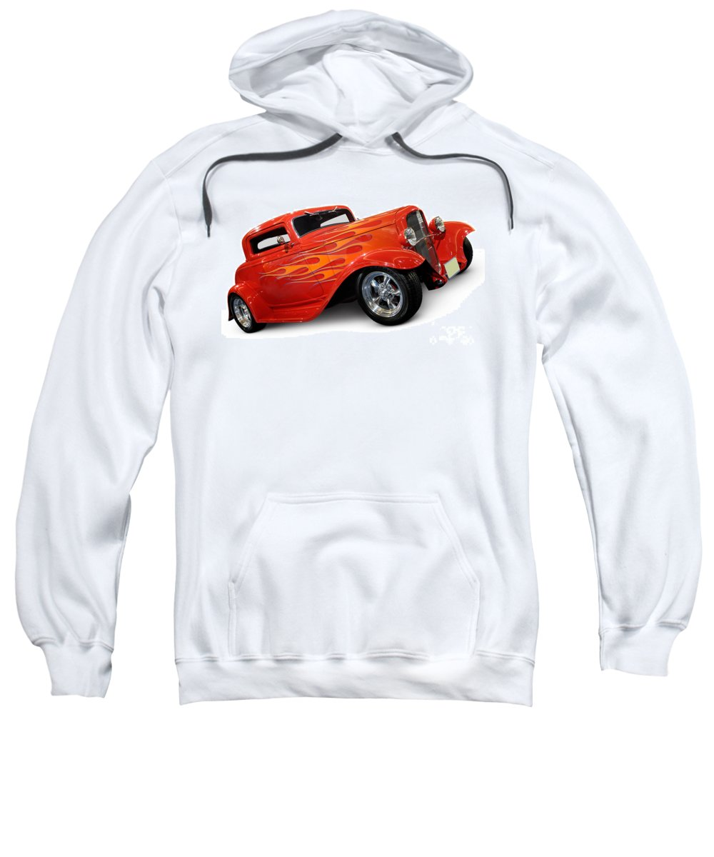 Hot Rod Sweatshirt featuring the photograph Hot Rod Ford Coupe 1932 by Oleksiy Maksymenko