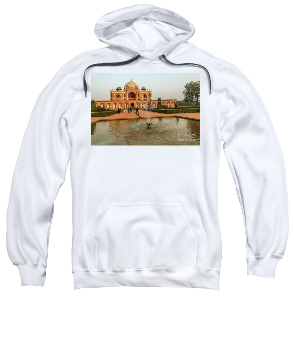 Heritage Sweatshirt featuring the photograph Humayun's Tomb 01 by Werner Padarin