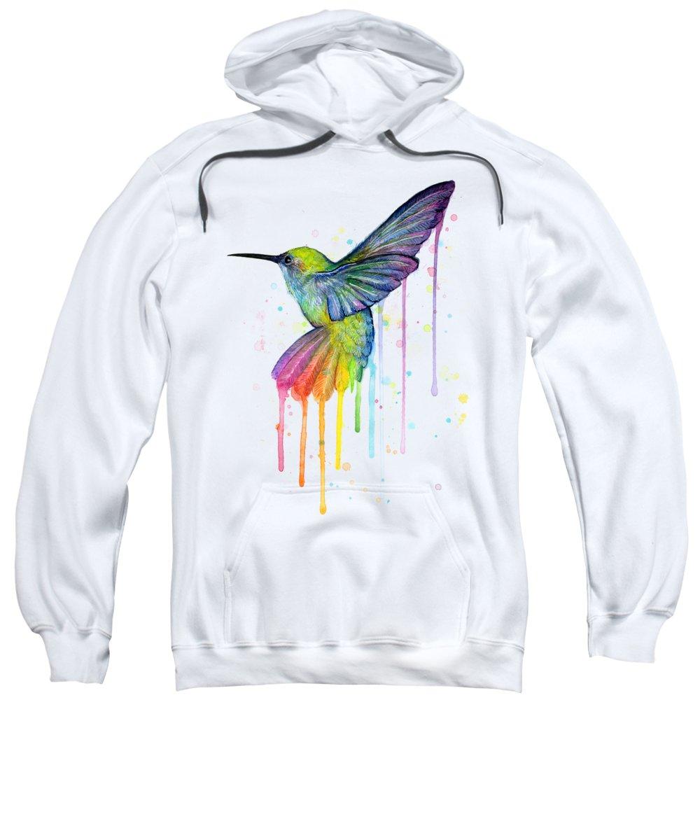 Hummingbird Hooded Sweatshirts T-Shirts