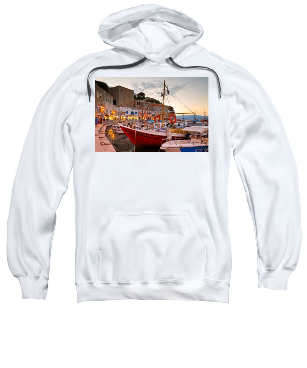 Hydra Sweatshirt featuring the photograph hydra 'LII by Milan Gonda
