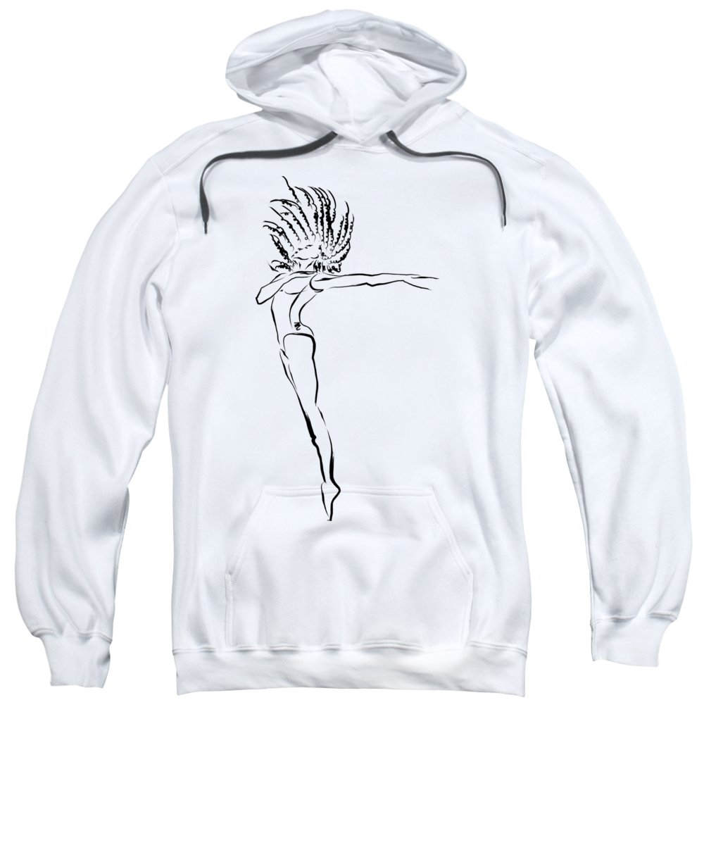 Joy Sweatshirt featuring the digital art I Can't Stop This Feeling by Fashiotastik