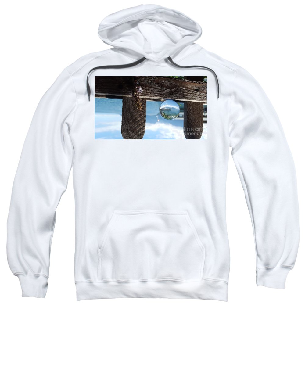 Magic Sweatshirt featuring the photograph I'm Sailing Away by Ram Photography