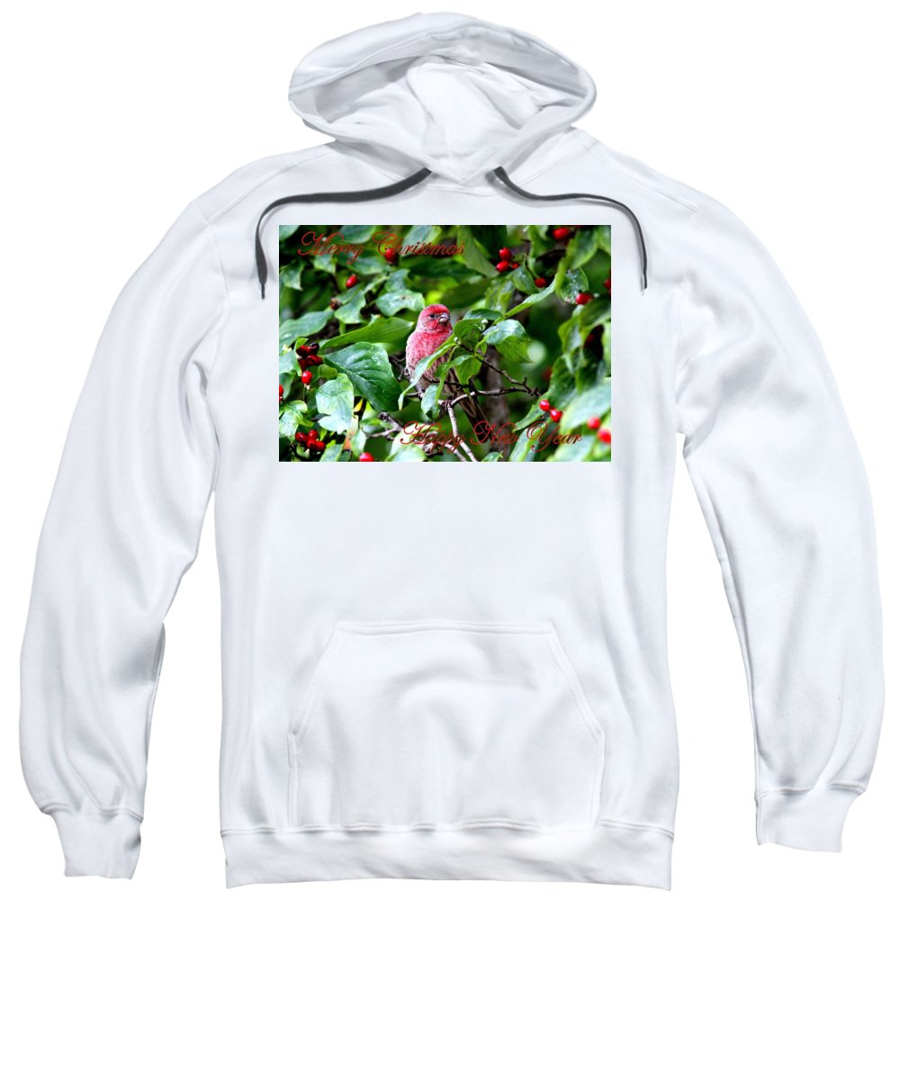 Merry Christmas Sweatshirt featuring the photograph Img_1309-009 - Merry Christmas by Travis Truelove