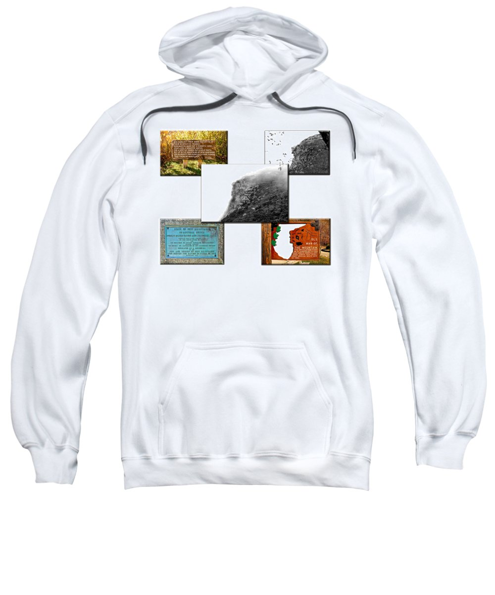 Montage Sweatshirt featuring the photograph In Memoriam by Greg Fortier