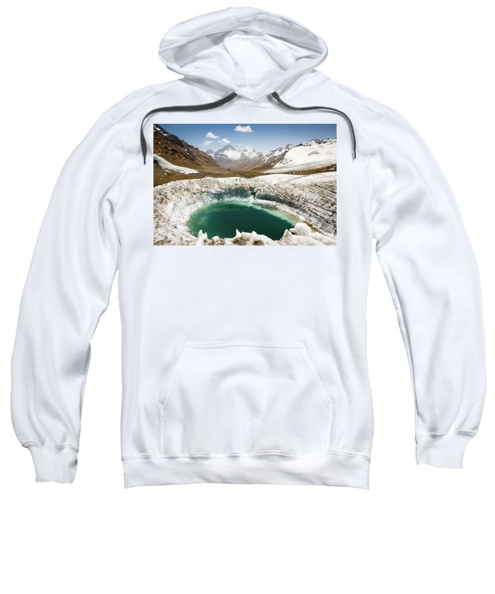 Art Sweatshirt featuring the photograph In The Depth Of Pamir by Konstantin Dikovsky