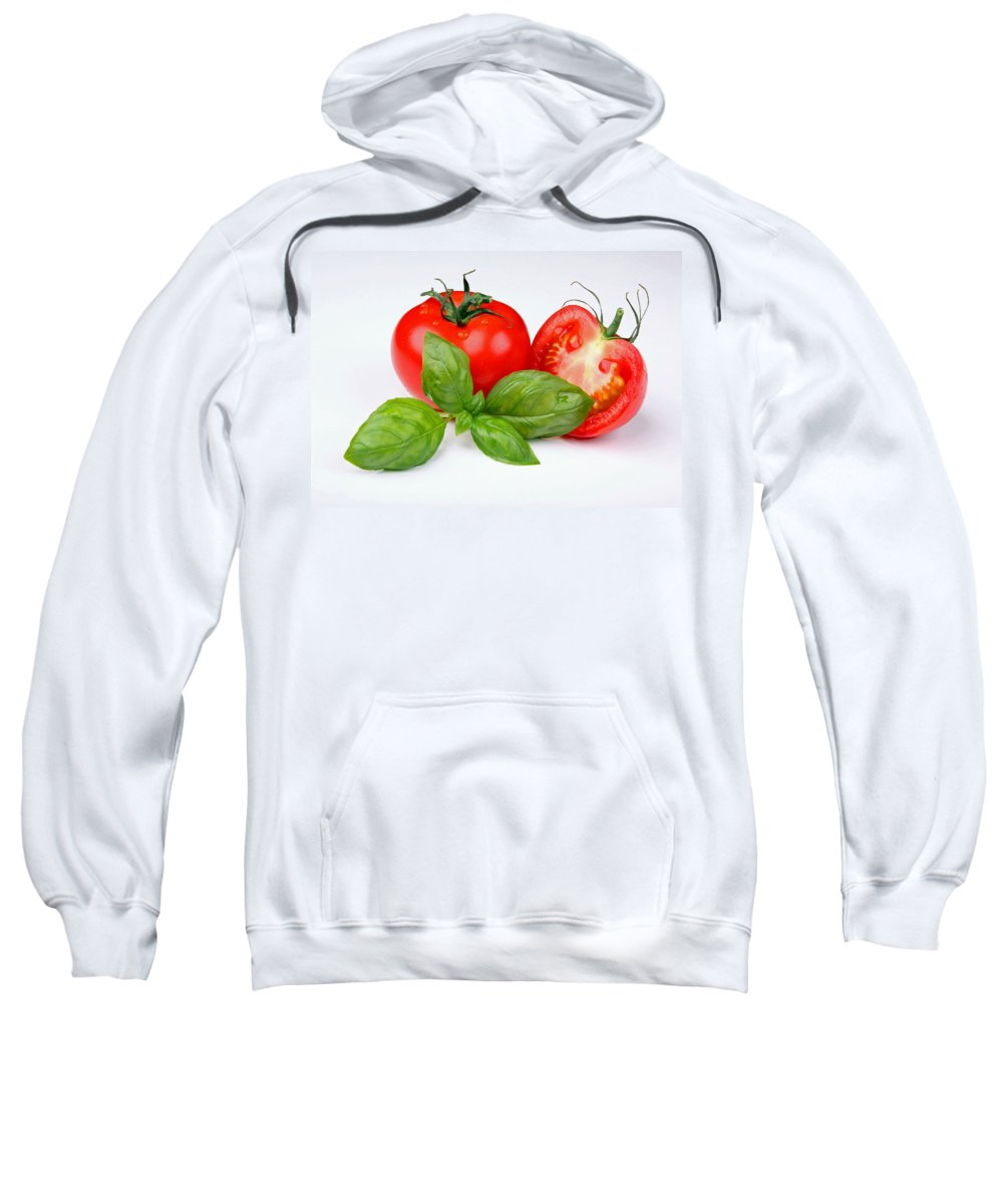 Eat Sweatshirt featuring the photograph In The Kitchen by Manfred Lutzius