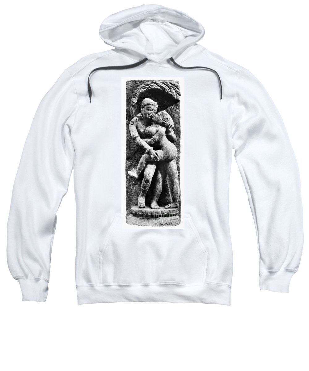 12th Century Sweatshirt featuring the photograph India: Sculpture by Granger