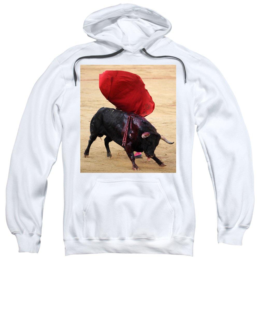 Spain Sweatshirt featuring the photograph Invisible Matador by Rafa Rivas