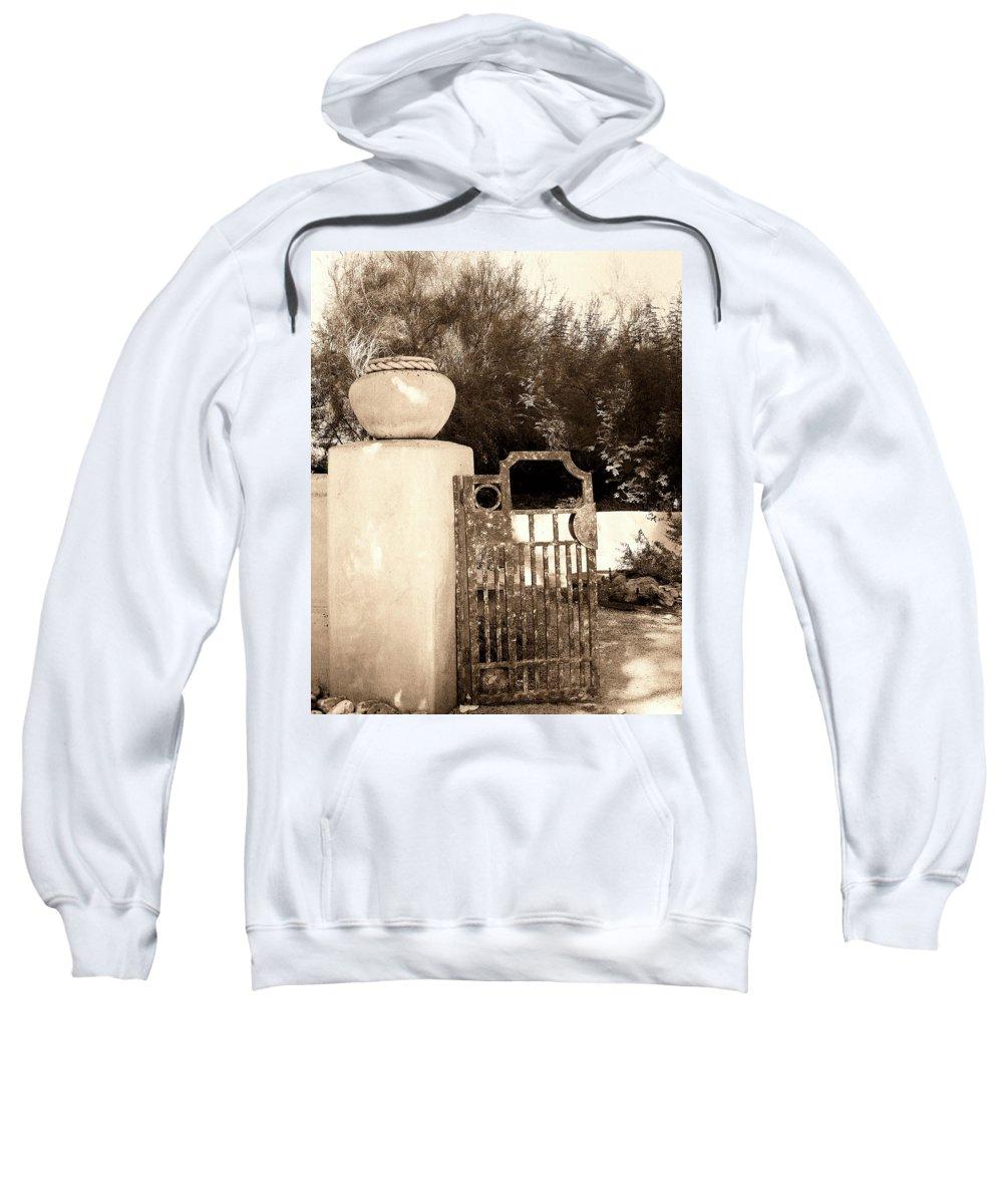 Living Desert Sweatshirt featuring the photograph Invitation by William Dey