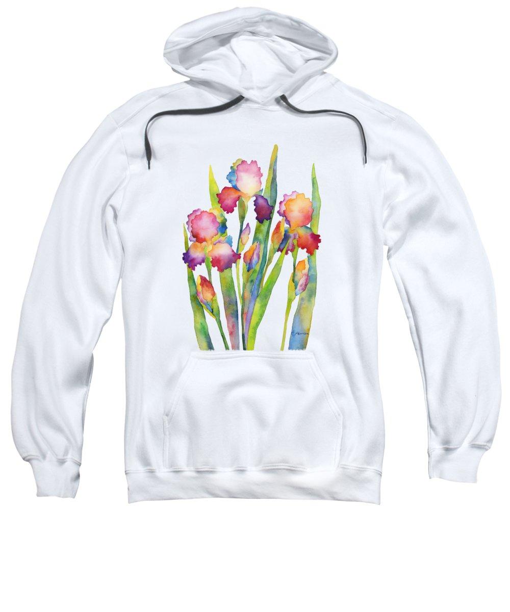 Pink Flowers Sweatshirts