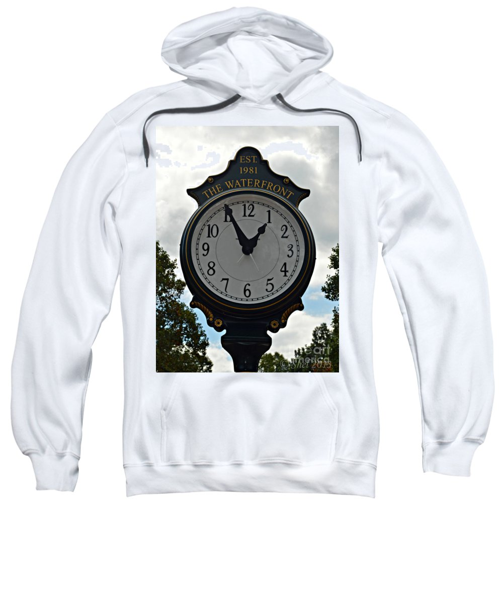 Time Sweatshirt featuring the photograph It's Time by Michele Hancock