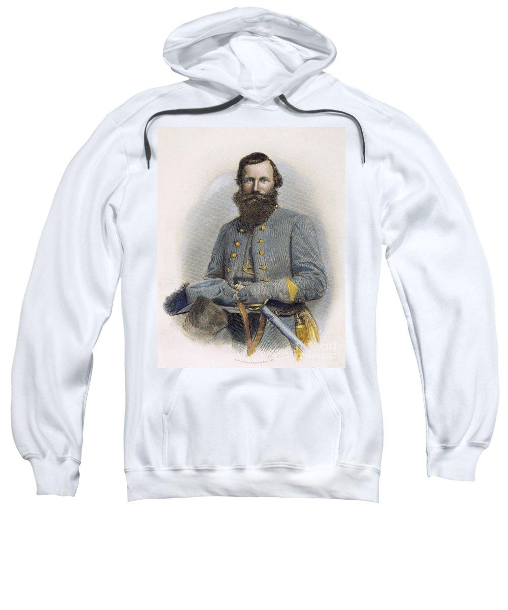 19th Century Sweatshirt featuring the photograph James E. B. Jeb Stuart by Granger