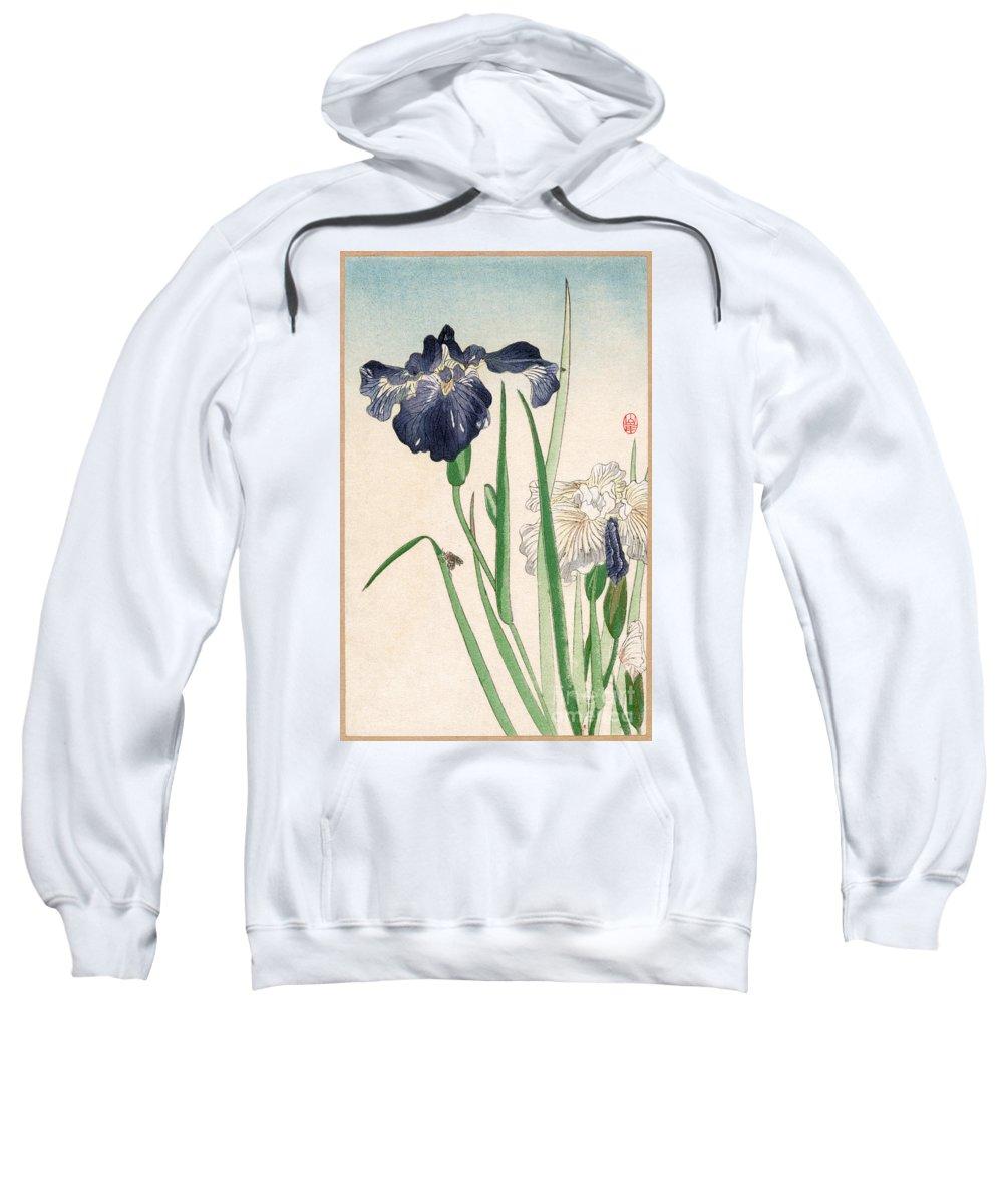 20th Century Sweatshirt featuring the photograph Japanese Irises by Granger