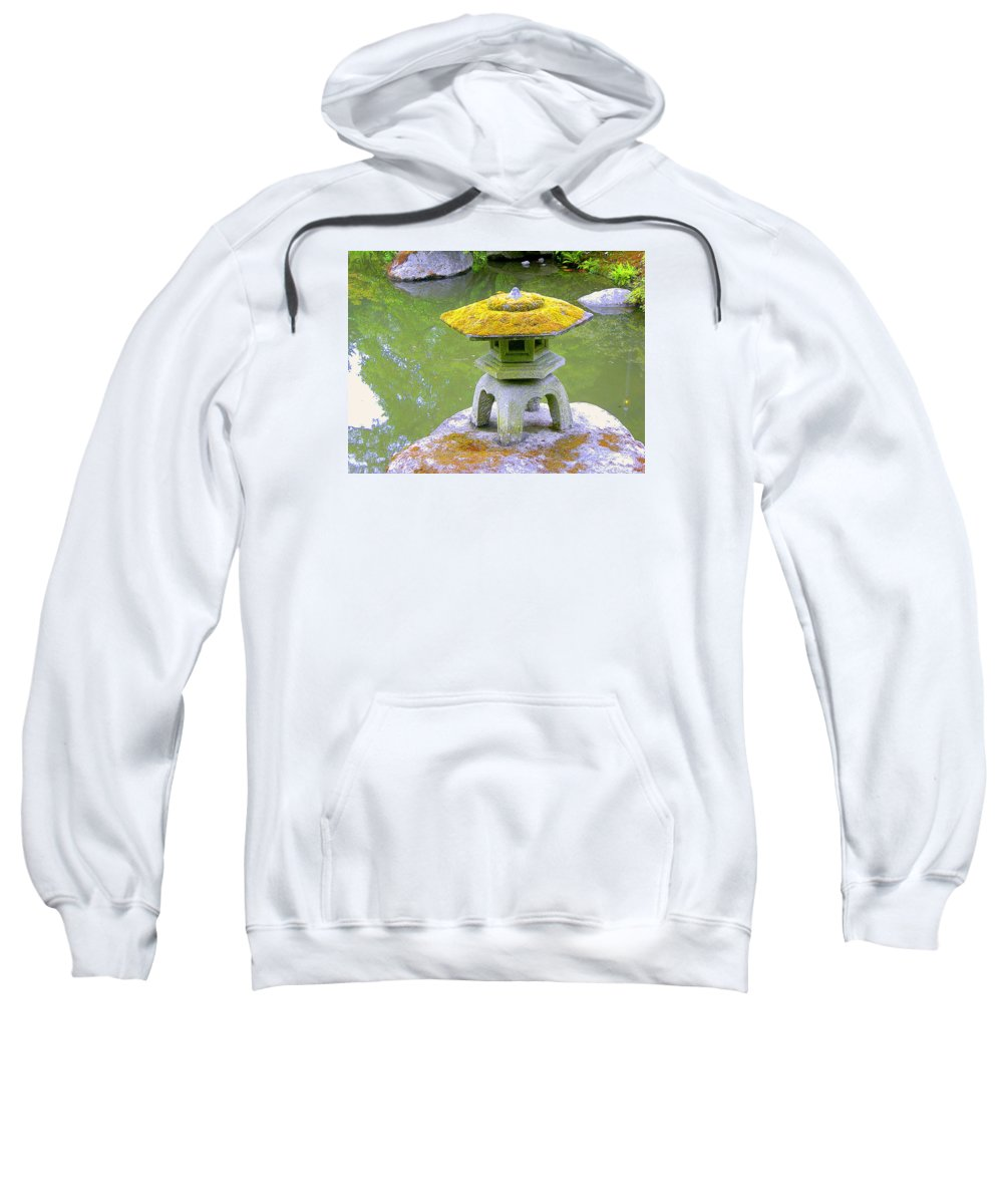 Japanese Sweatshirt featuring the photograph Japanese Lantern by Maro Kentros