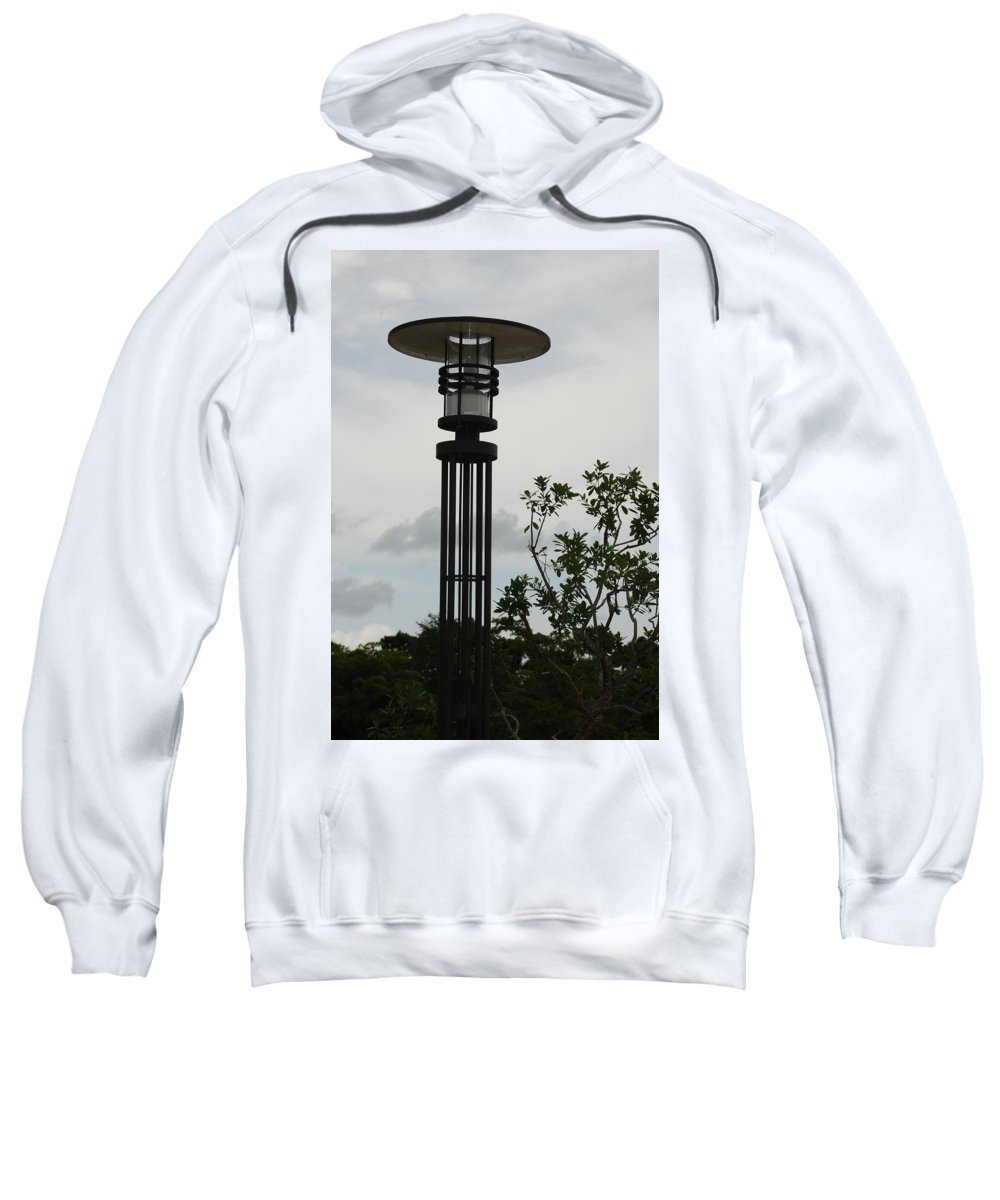 Street Lamp Sweatshirt featuring the photograph Japanese Street Lamp by Rob Hans