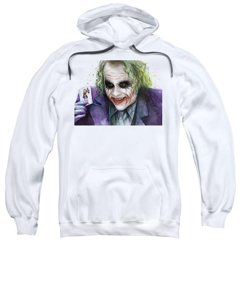 Heath Ledger Hooded Sweatshirts T-Shirts