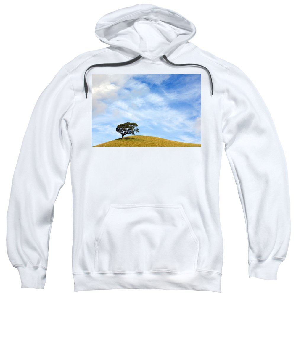 Landscape Sweatshirt featuring the photograph Just One Tree Hill by Mal Bray