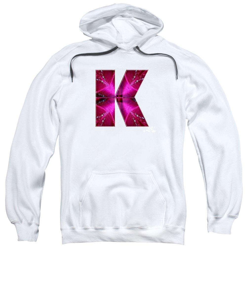 K Sweatshirt featuring the painting k kk kkk Alpha Art on Shirts alphabets initials  shirts jersey t-shirts v-neck by NavinJoshi by Navin Joshi
