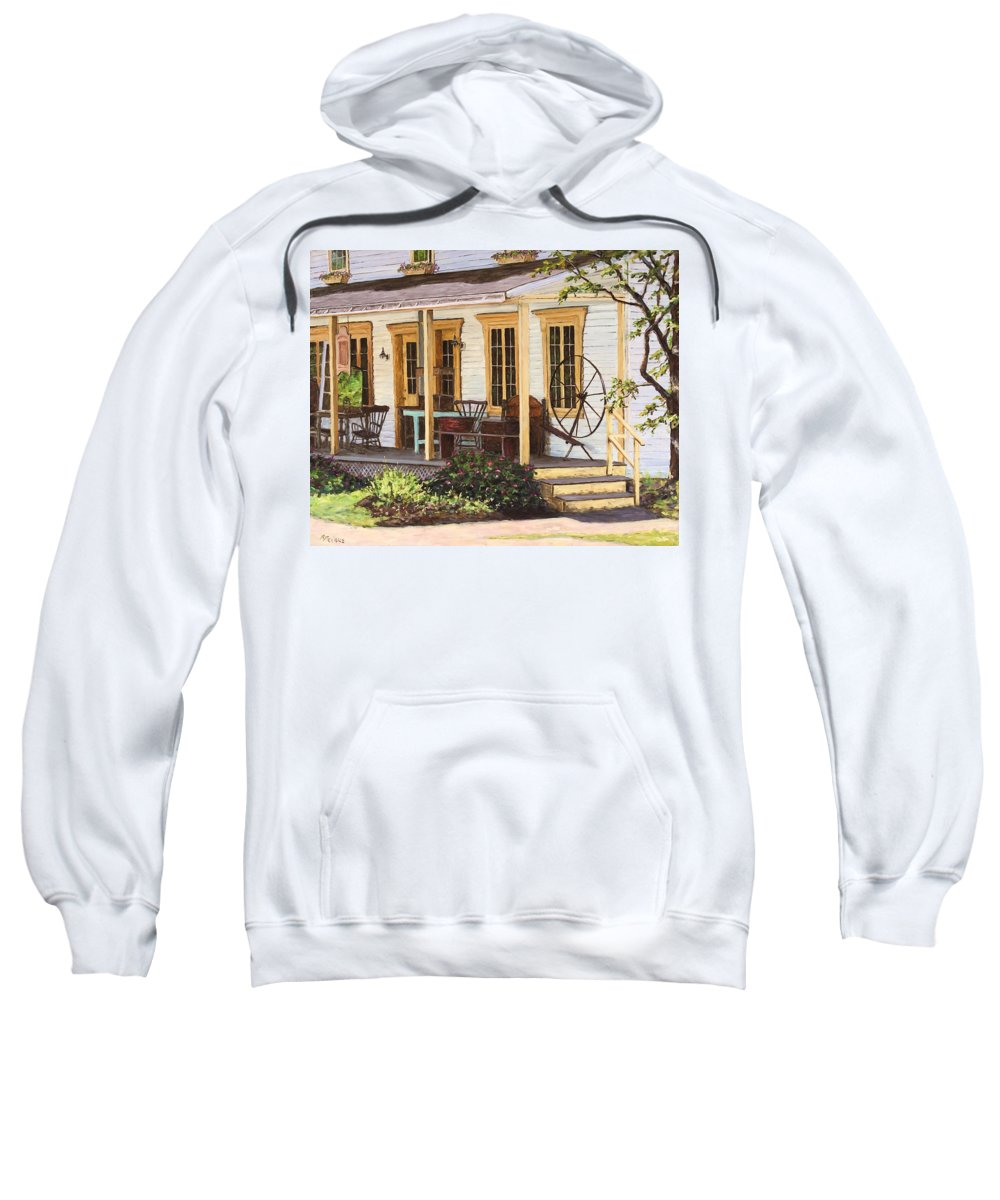 Urban Sweatshirt featuring the painting Knowlton Lac Brome by Richard T Pranke