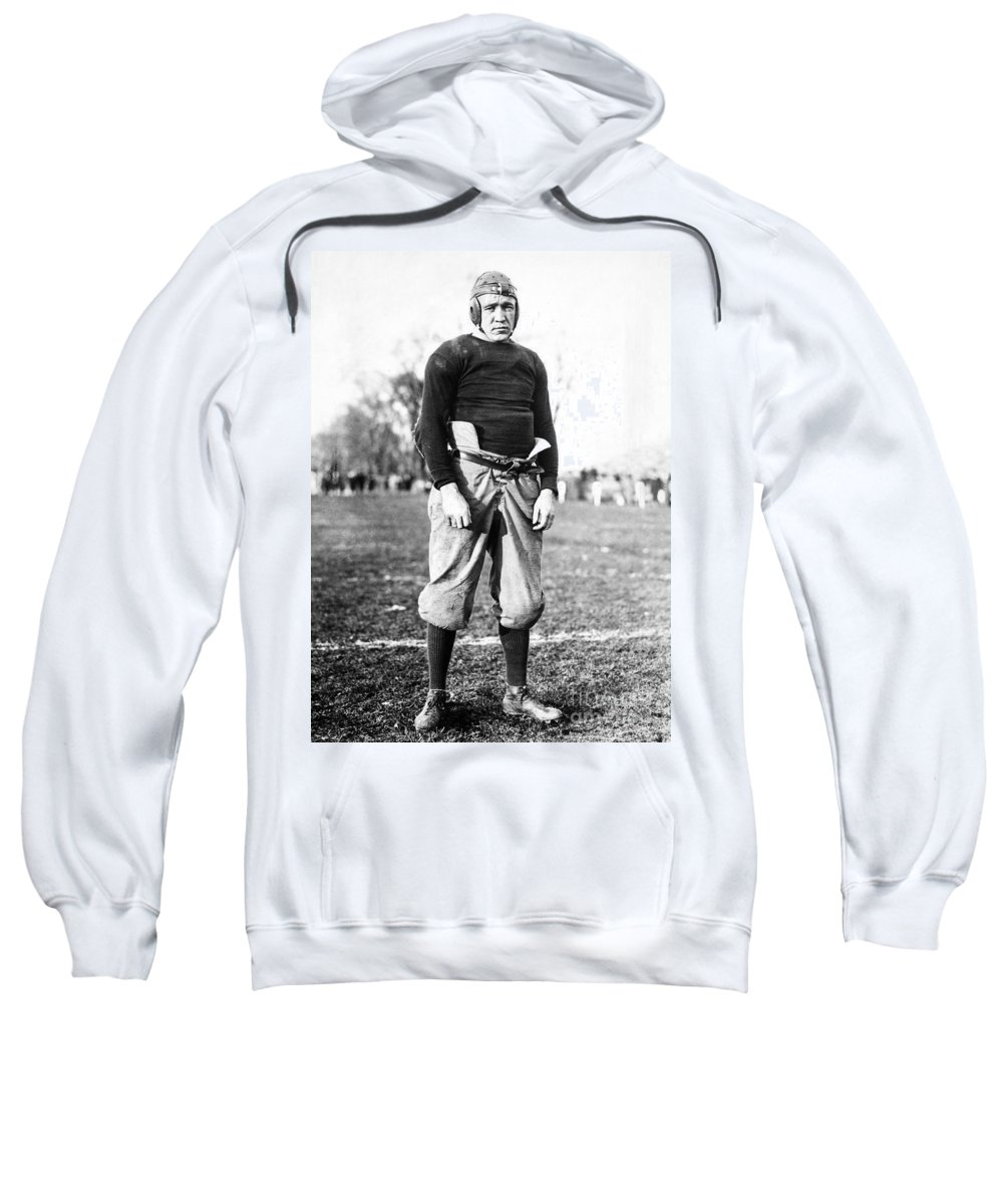 1913 Sweatshirt featuring the photograph Knute Rockne (1888-1931) by Granger